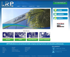 LRP Publications website history