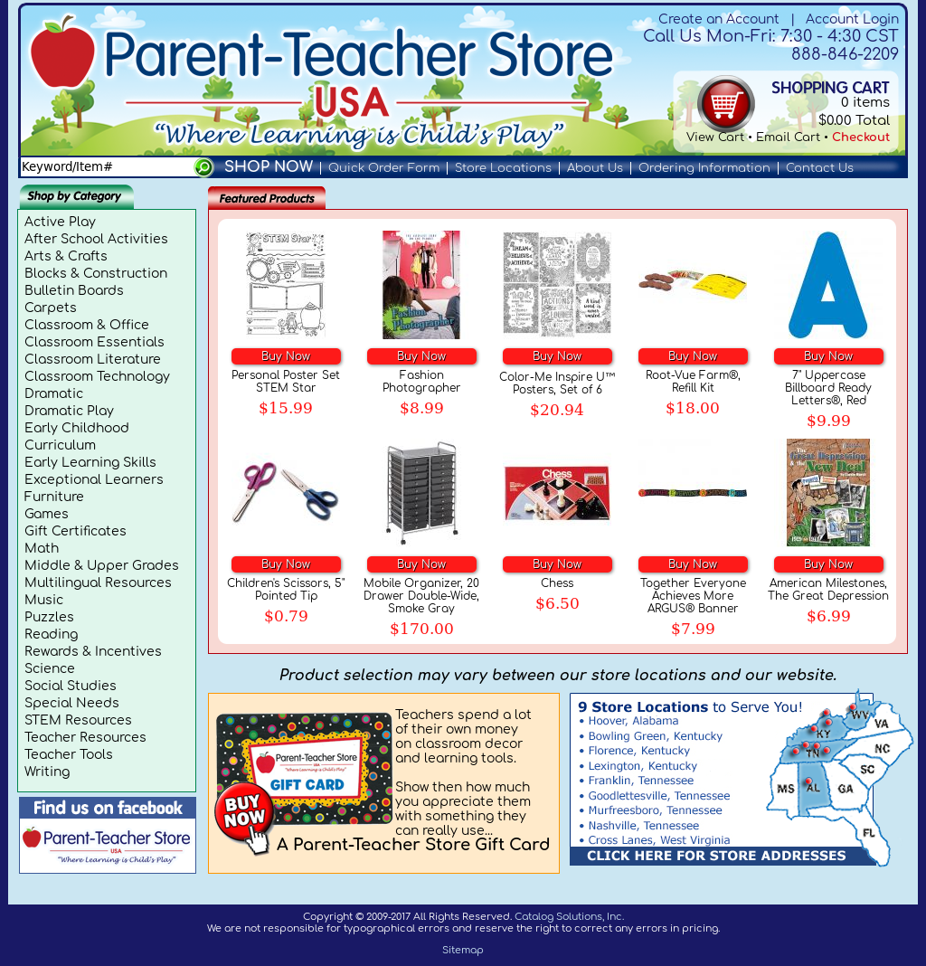 Parent-Teacher Store USA Competitors, Revenue and Employees