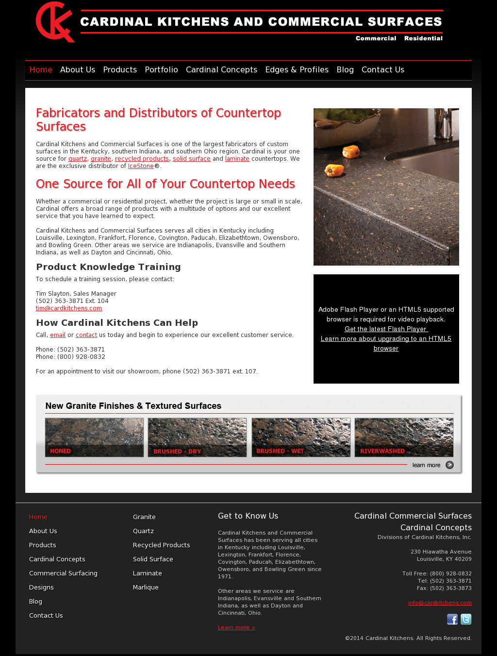 Cardinal Kitchens And Commercial Surfaces Compeors Revenue Employees Owler Company Profile