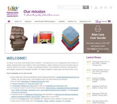 Home Care Medical website history