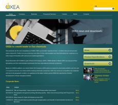 OXEA website history