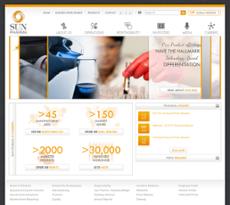 Sun Pharma website history