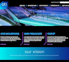 OTI website history