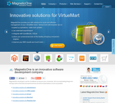 MagneticOne website history