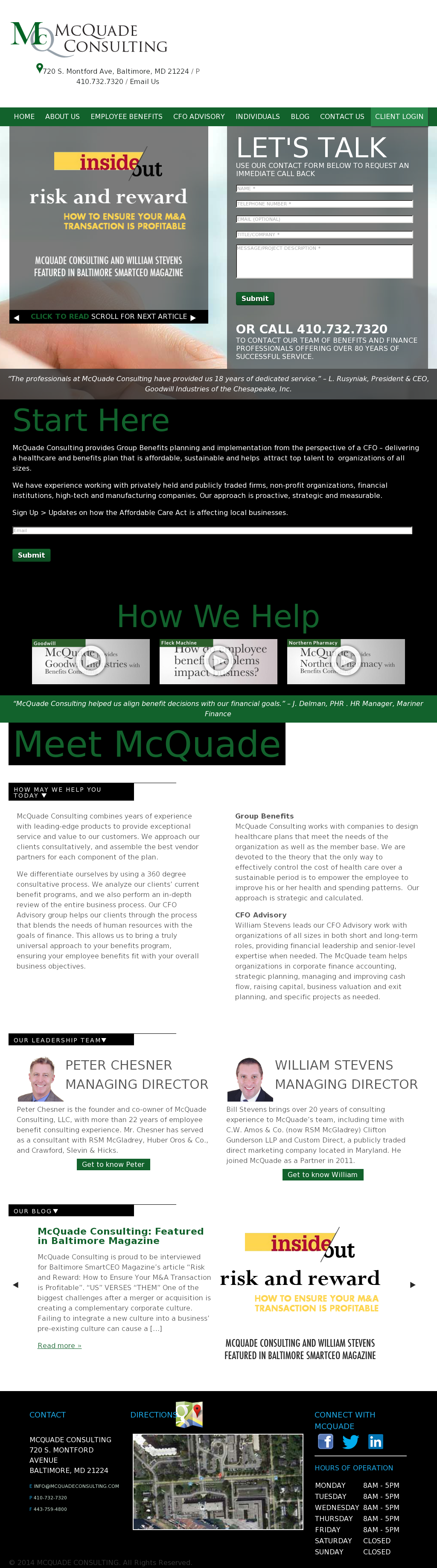 McQuade Consulting Competitors, Revenue and Employees - Owler