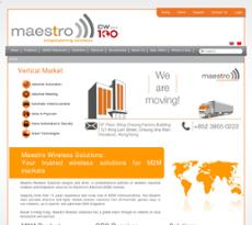 Maestro website history