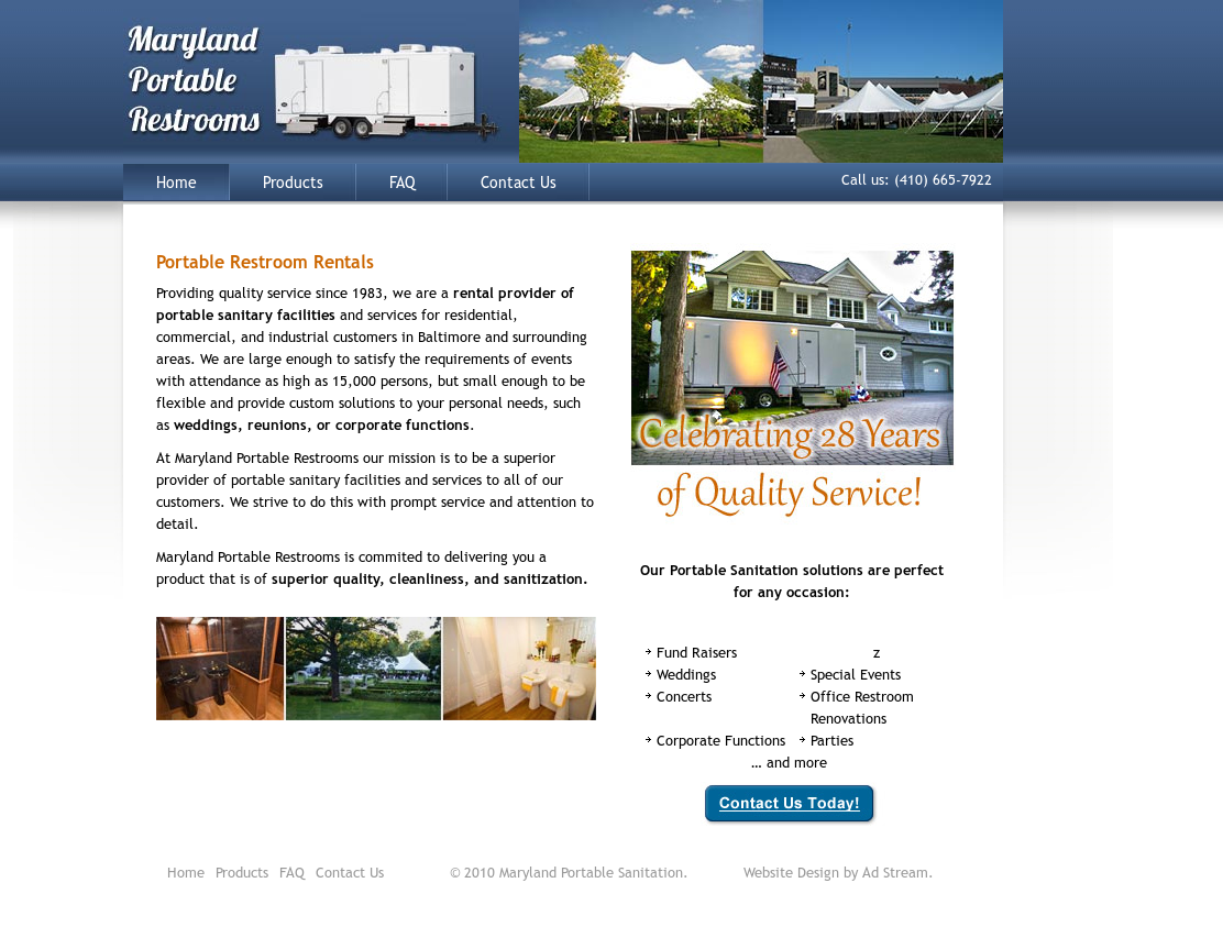 maryland portable restrooms competitors revenue and employees rh owler com
