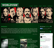 Worldview Entertainment website history