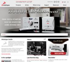 Antelope Audio website history