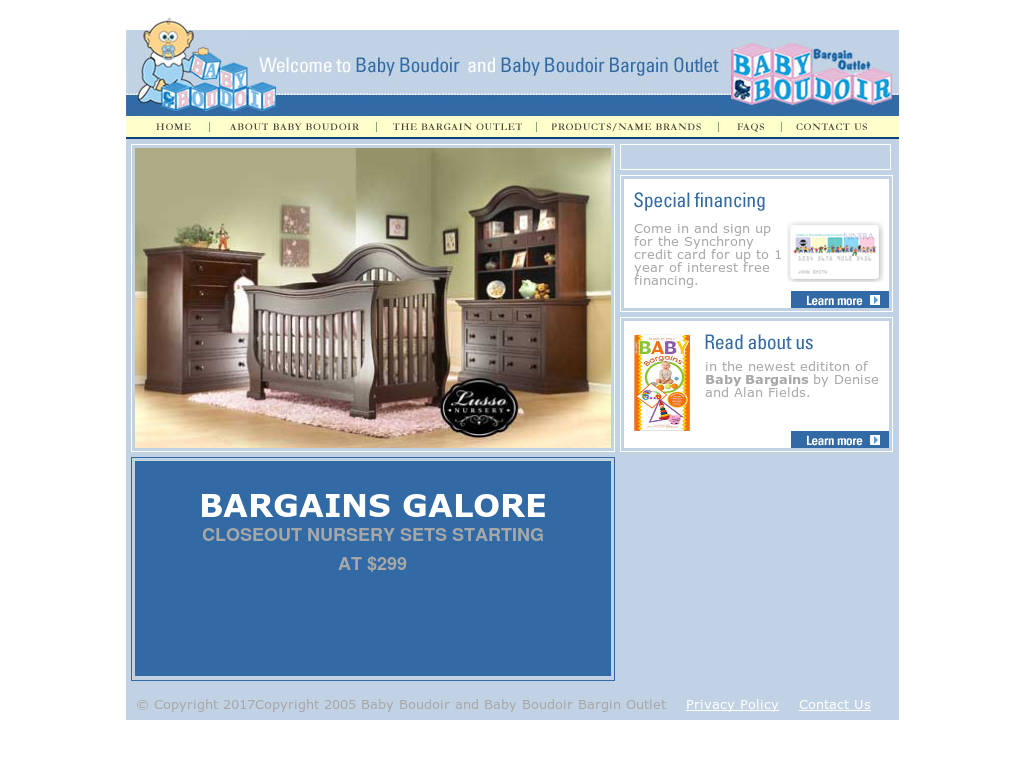 Baby Boudoir Bargain Outlet Competitors Revenue And Employees
