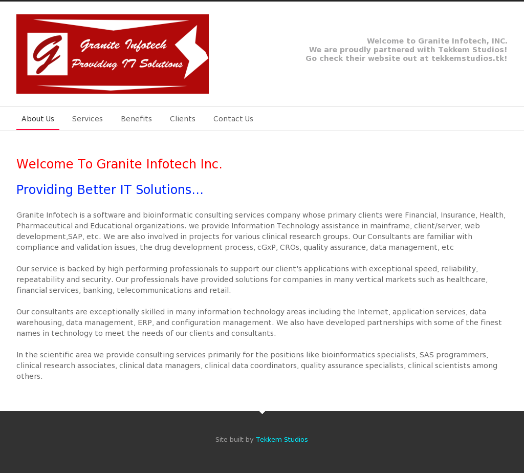 Granite Infotech Competitors, Revenue and Employees - Owler