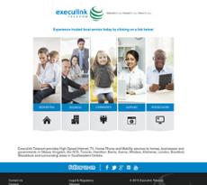 Execulink website history
