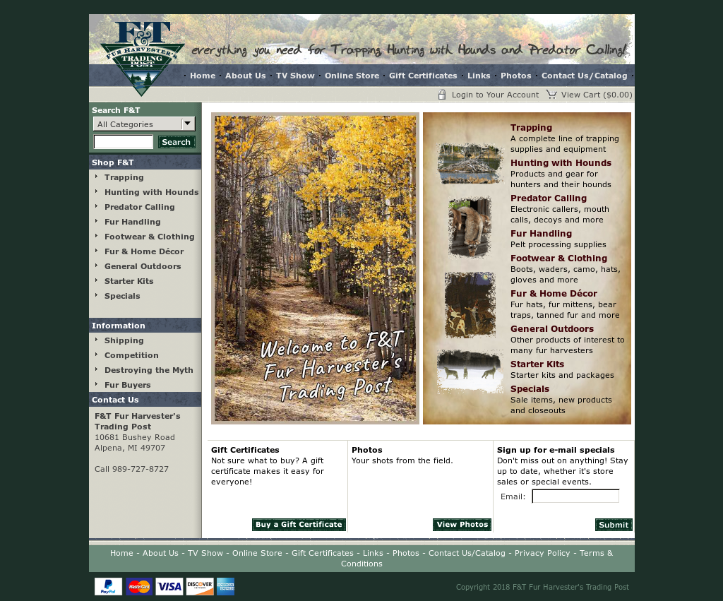 F&t Fur Harvester's Trading Post Competitors, Revenue and