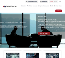 Casewise website history