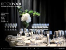 Rockpool website history