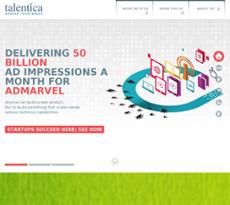 Talentica website history