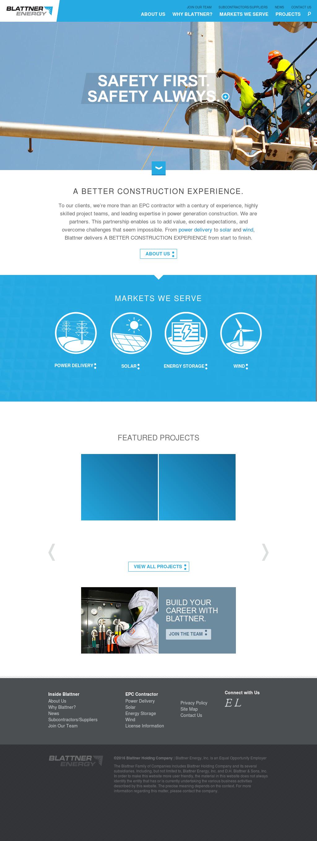 Blattner Energy Texas - Energy Etfs