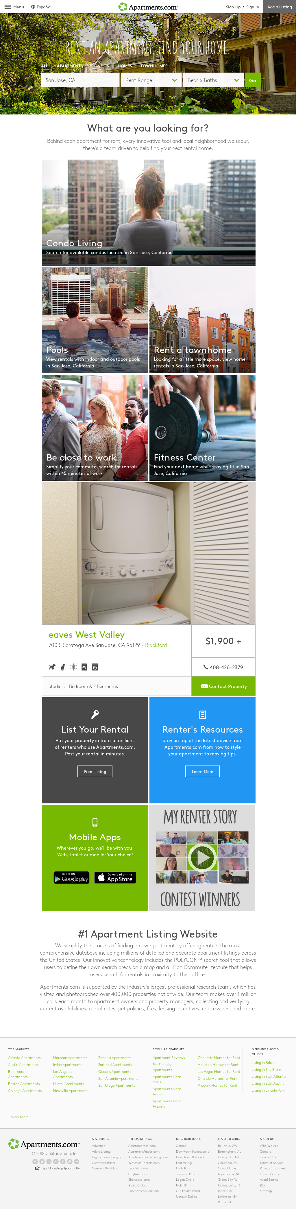 Apartments Com S Competitors Revenue Number Of Employees Funding Acquisitions News Owler Company Profile