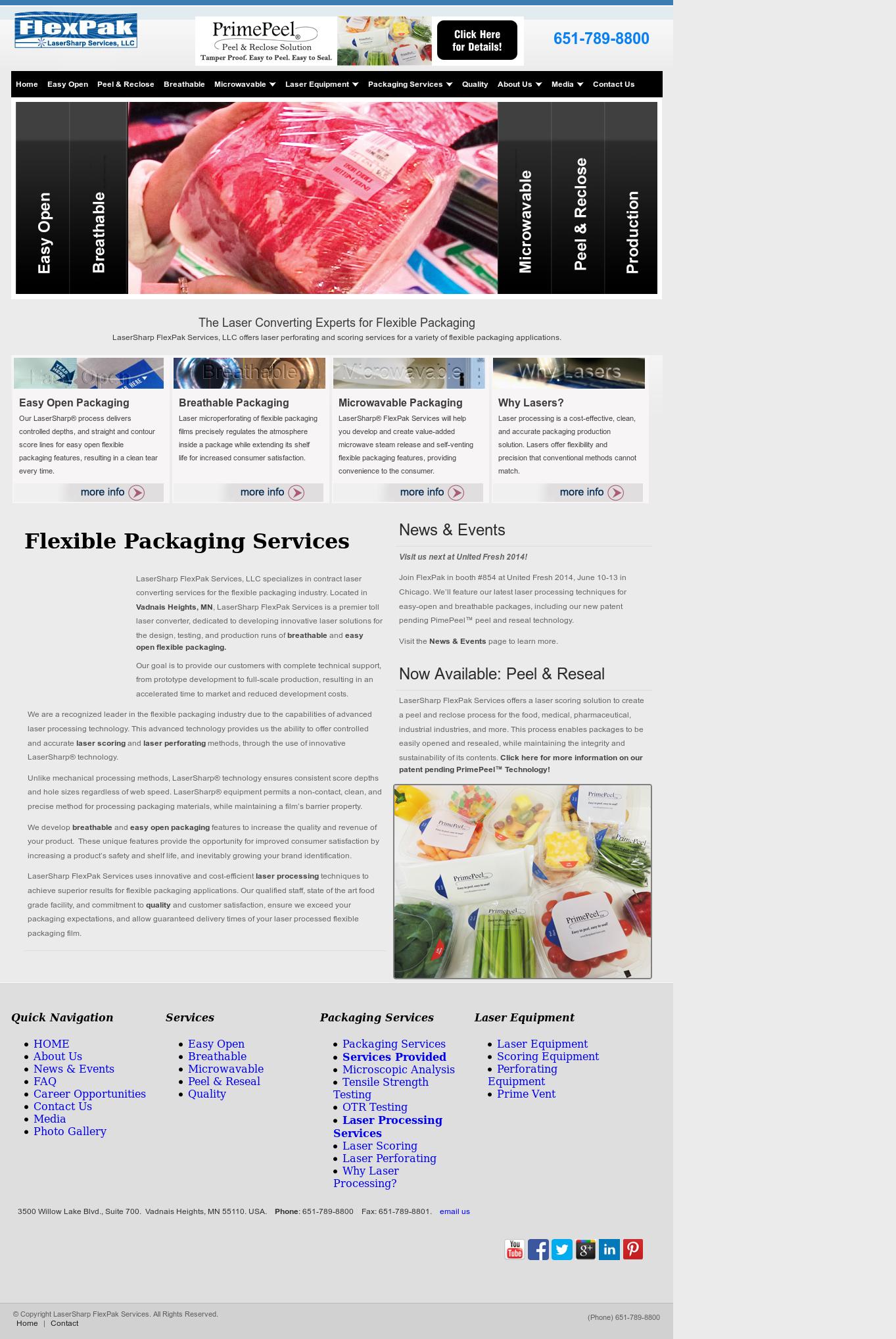 LaserSharp FlexPak Services Competitors, Revenue and