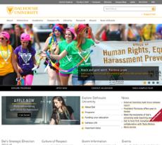 Dalhousie website history