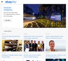 eBay website history