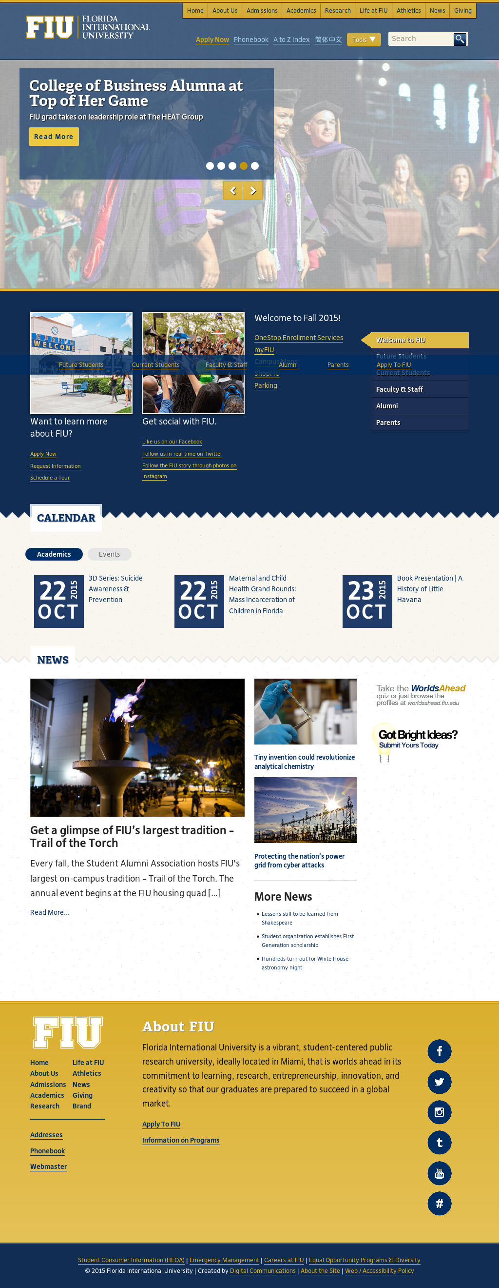 corporation and florida international university essay Florida international university is a vibrant, student-centered public research university, ideally located in miami, that is worlds ahead in its commitment to.
