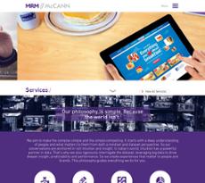 MRM website history