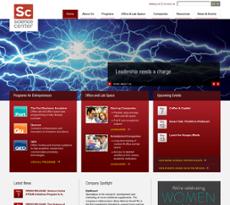 Science Center website history