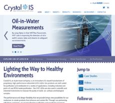 Crystal IS website history