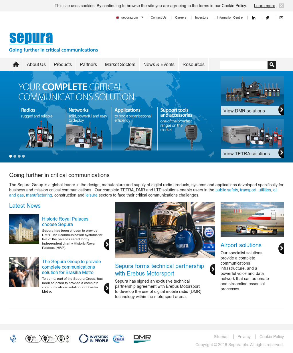 Sepura Competitors, Revenue and Employees - Owler Company Profile