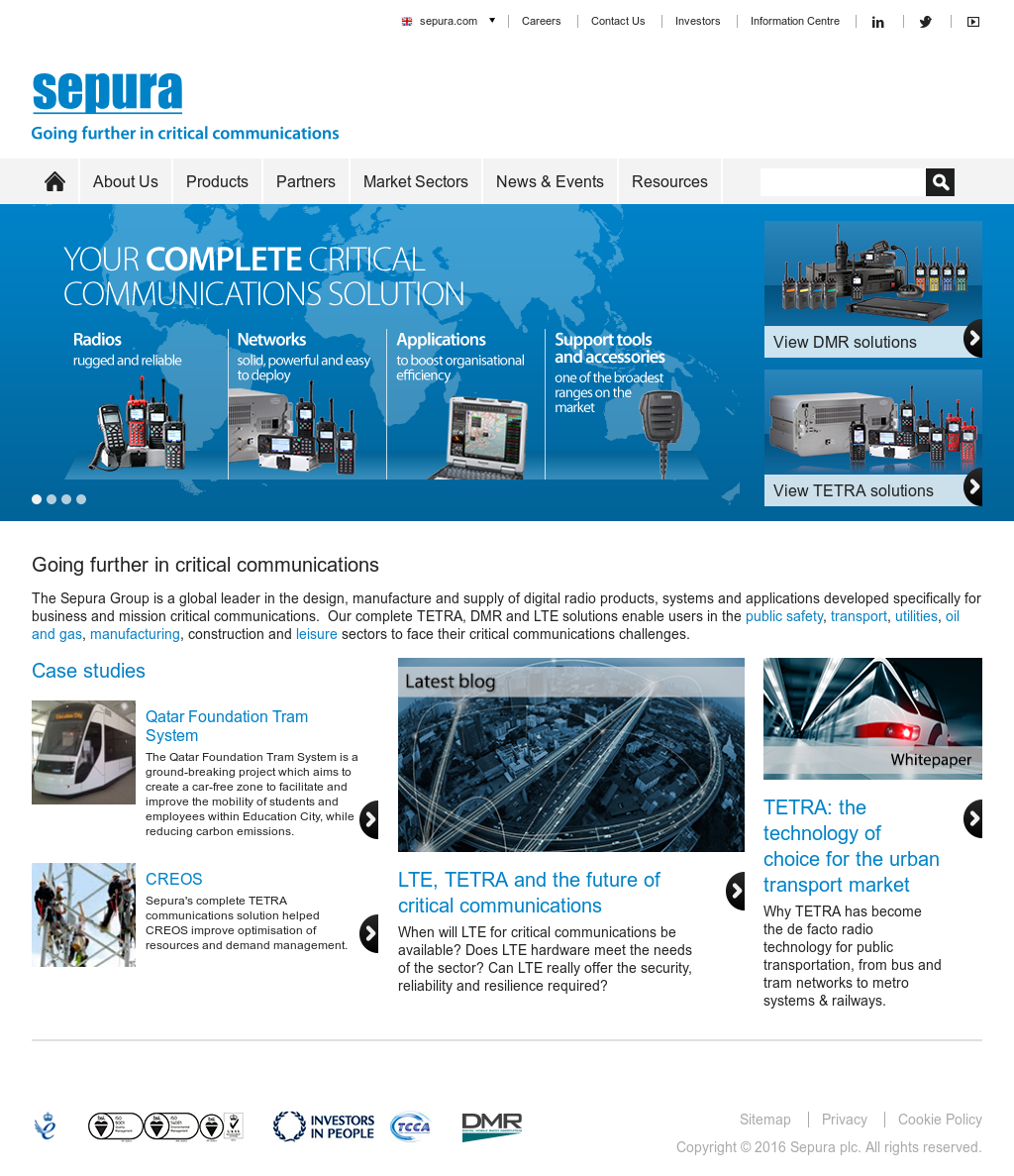 Sepura Competitors, Revenue and Employees - Owler Company
