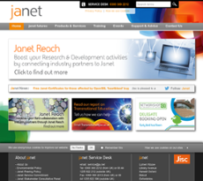 Janet website history