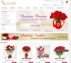 FlowerAura website history