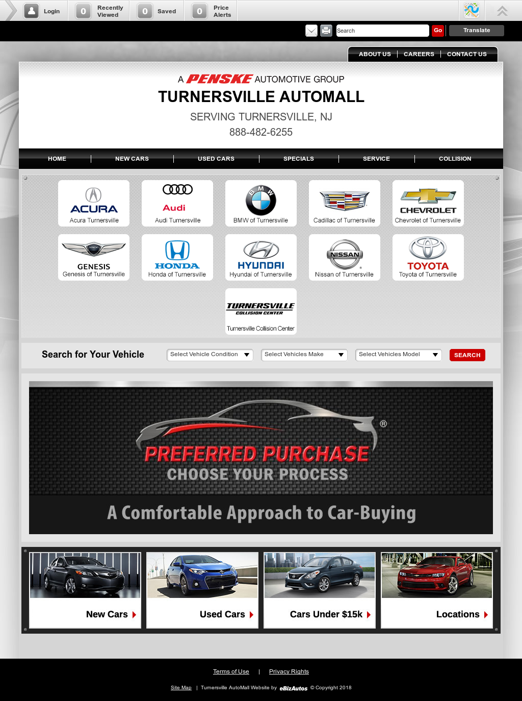Turnersville Automall Competitors Revenue And Employees