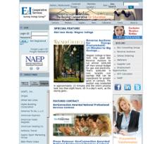 E&I Cooperative Service website history
