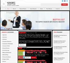 Koncept Analytics website history