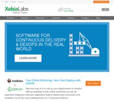 XebiaLabs website history