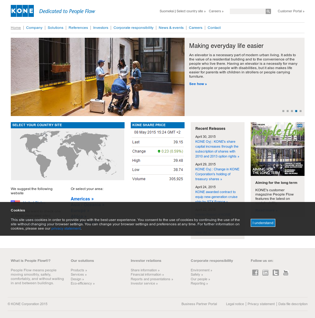 KONE Competitors, Revenue and Employees - Owler Company Profile