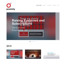 Proximity website history