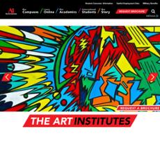 The Art Institutes website history