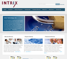 Intrix website history