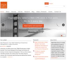 Digital Clarity Group website history
