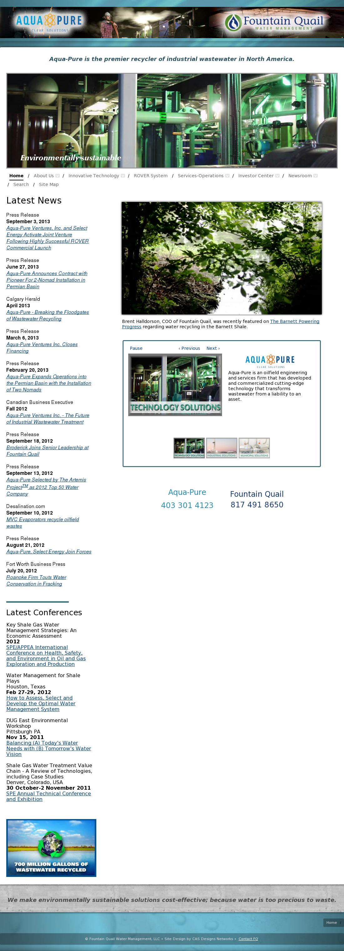 Aqua-Pure Competitors, Revenue and Employees - Owler Company Profile