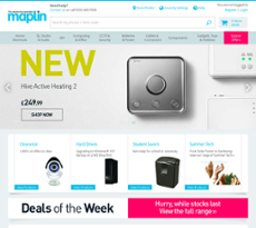 Maplin website history