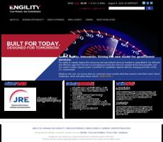 Engility website history