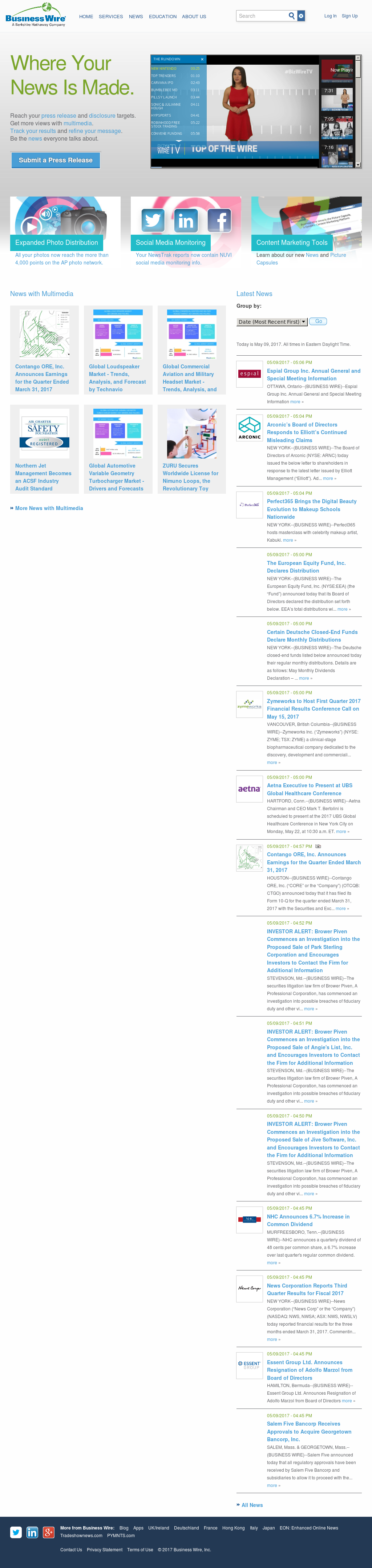 Business Wire Competitors, Revenue and Employees - Owler Company Profile