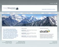 Grey Mountain website history