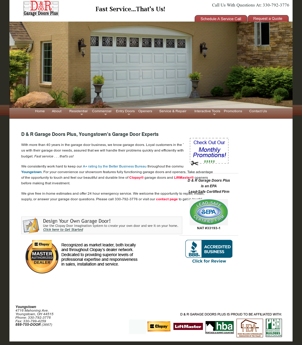 D R Garage Doors Plus S Competitors Revenue Number Of Employees Funding Acquisitions News Owler Company Profile
