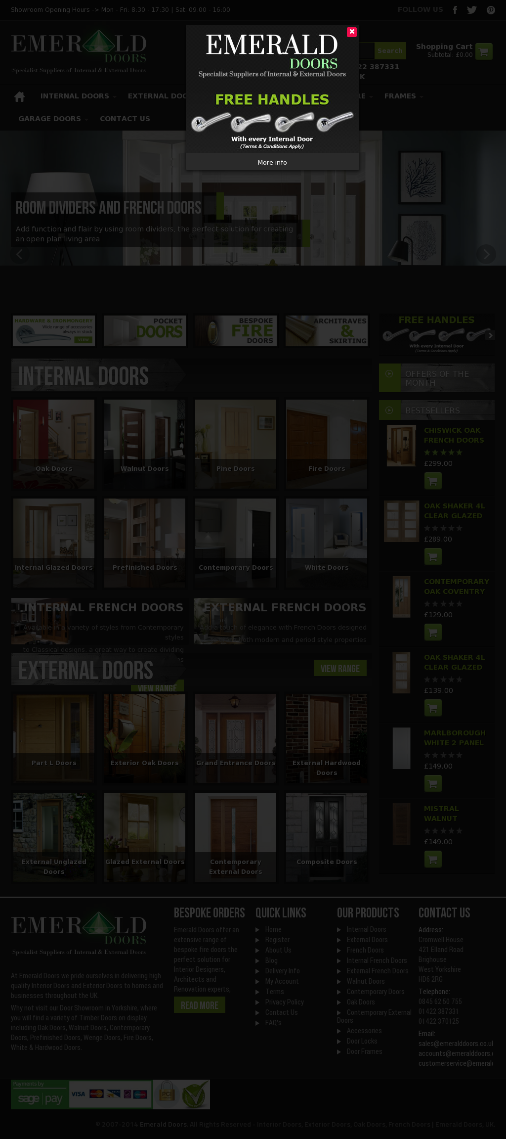 & Emerald Doors Competitors Revenue and Employees - Owler Company Profile