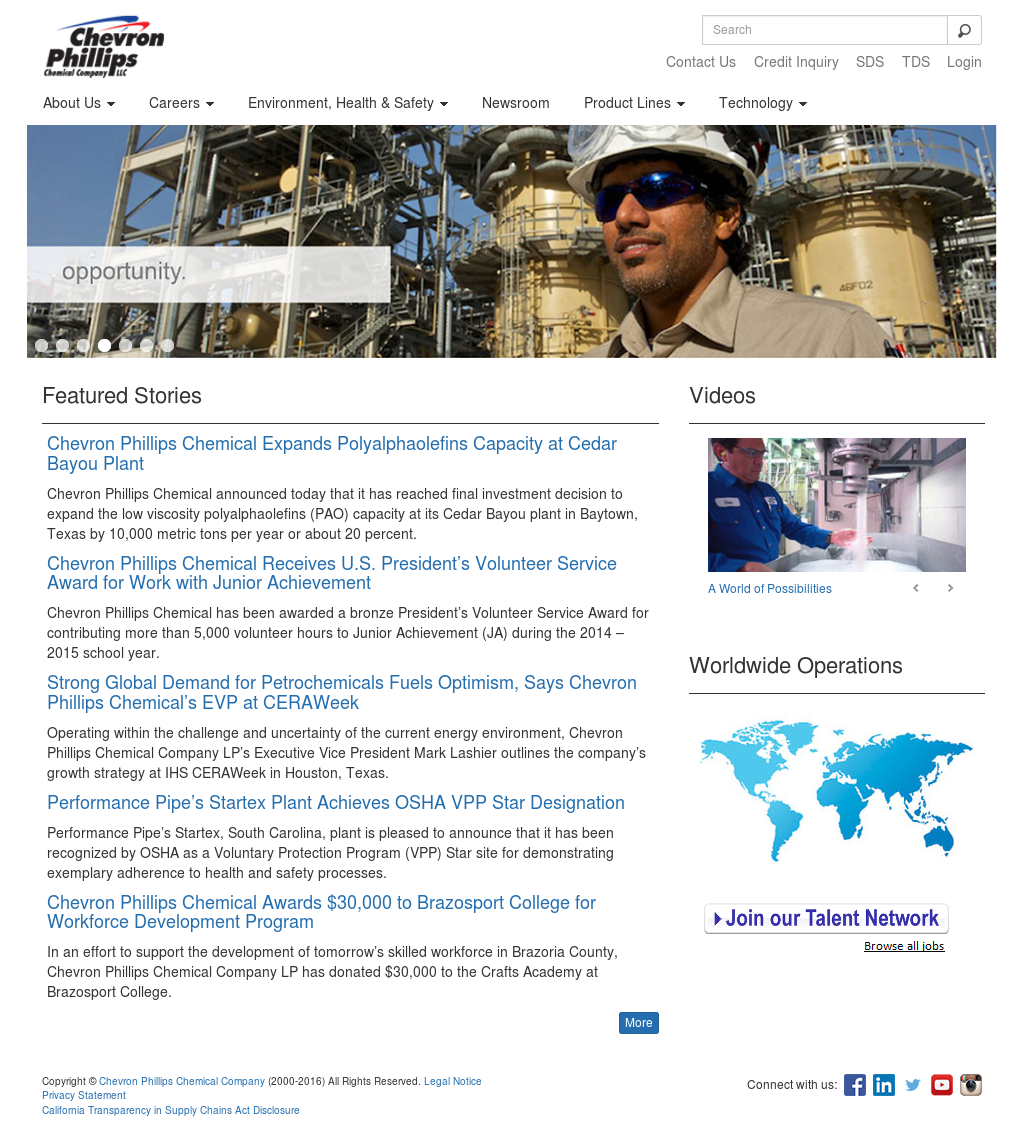 Chevron Phillips Chemical Competitors, Revenue and Employees